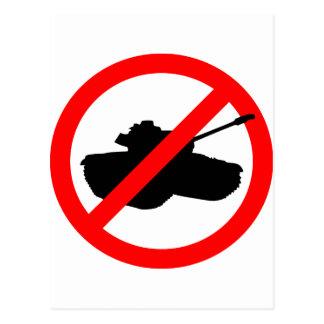 No Tanks! Postcard