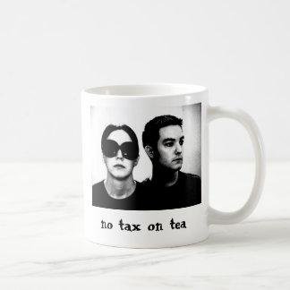 No Tax On Tea Basic White Mug