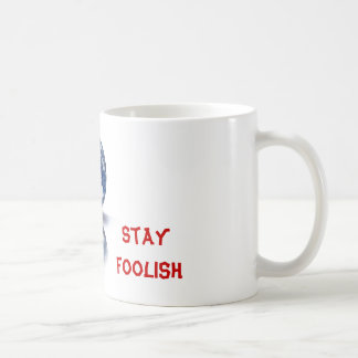 No te conformes. No dejes de ser curioso. Coffee Mug