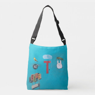 No Tell Motel All over print Crossbody Bag