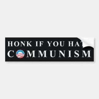 No to Communism Bumper Sticker