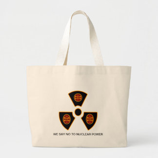 """""""No To Nuclear""""* Canvas Bags"""
