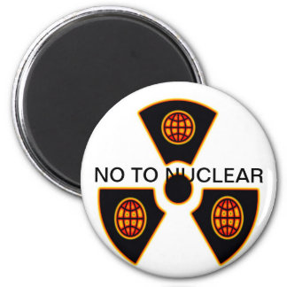 """No To Nuclear""* Magnets"
