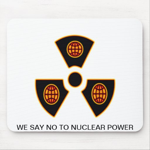 """""""No To Nuclear""""* Mousepad"""
