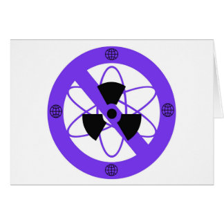 """""""NO TO NUCLEAR POWER""""* GREETING CARD"""