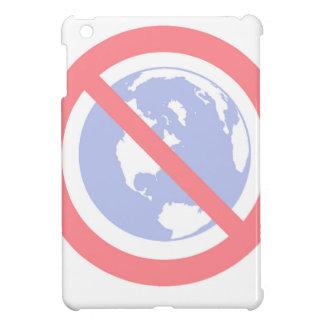 No to the Globe - Flat Earth iPad Mini Cover