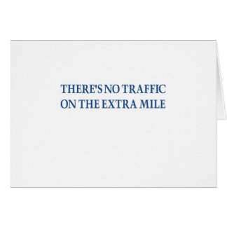 No Traffic (blue warrior) Card