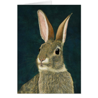 """No Tricks"" - Cottontail Card"