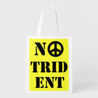 No Trident Scottish Independence Grocery Bag