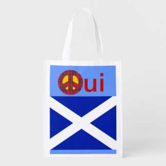 No Trident Scottish Independence Grocery Tote Market Totes