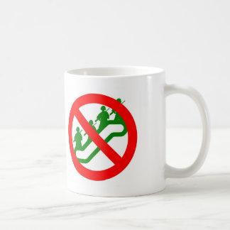 No Troop ESCALATION Basic White Mug