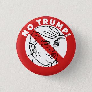 No Trump 2016 3 Cm Round Badge
