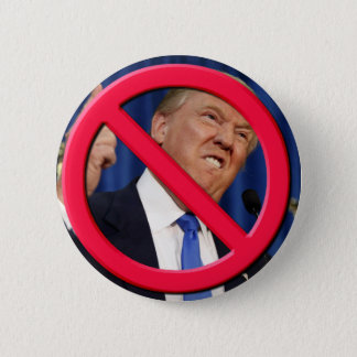 No Trump 6 Cm Round Badge