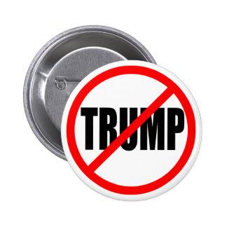 'NO TRUMP' 6 CM ROUND BADGE