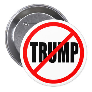 'NO TRUMP' 7.5 CM ROUND BADGE