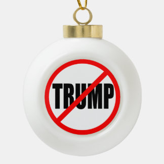 """NO TRUMP"" (ANTI-TRUMP) ORNAMENT"