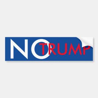 No Trump Bumper Sticker