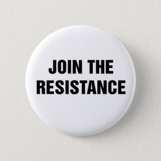 No Trump! Join the Resistance 6 Cm Round Badge