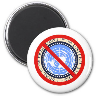 No United Nations Approval Needed! 6 Cm Round Magnet