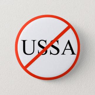 No USSA 6 Cm Round Badge