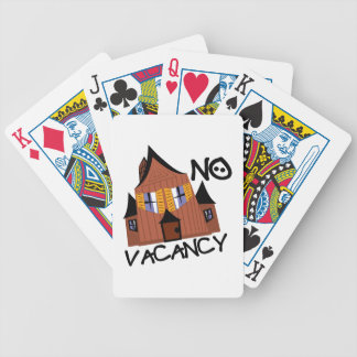 No Vacancy Poker Deck