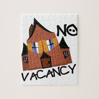 No Vacancy Puzzle