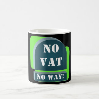 No VAT Tax Mug