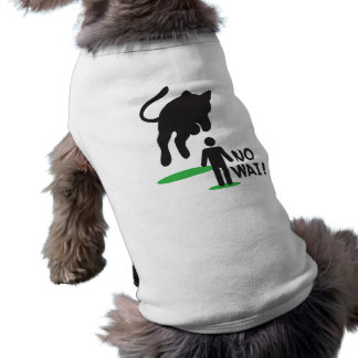 No Wai! CAT ATTACK! Sleeveless Dog Shirt