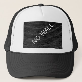 NO WALL TRUCKER HAT