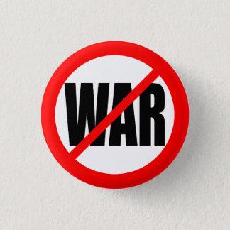 """""""NO WAR"""" 3 CM ROUND BADGE"""