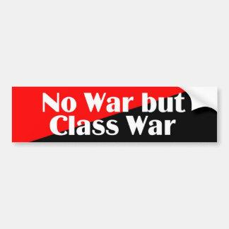 No War but Class War 2 sticker Bumper Sticker