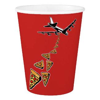 No war more pizza paper cup