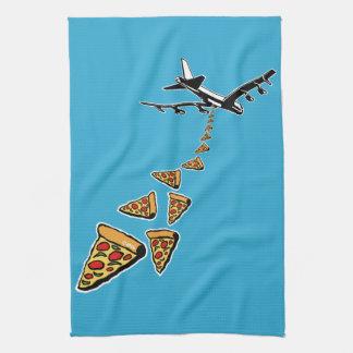 No war more pizza tea towel