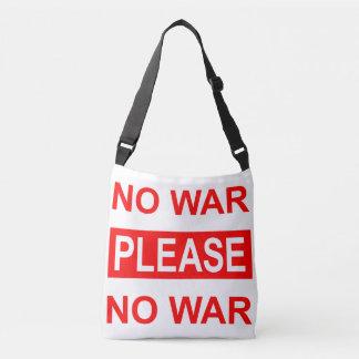 No War Please - Tote Bag