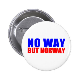 NO WAY BUT NORWAY BUTTONS