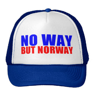 NO WAY BUT NORWAY MESH HATS