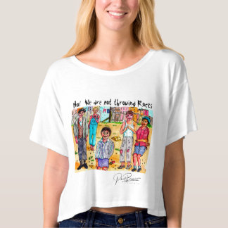 No! We are not throwing rocks T-Shirt