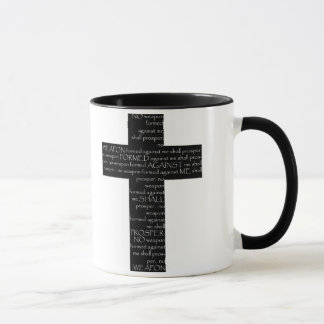 No weapon formed coffee mug