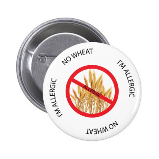 No Wheat Allergy Alert Button