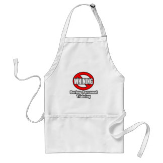 No Whining During Personal Training Apron