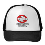 No Whining During Track Practice Mesh Hats
