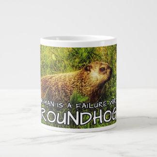 No woman is a failure who has Groundhogs mug