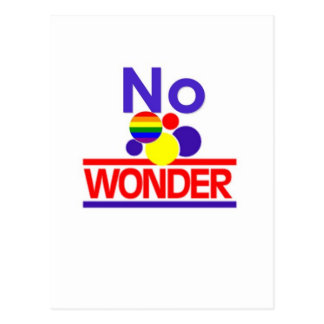 No Wonder Postcard