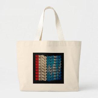 No World Government Canvas Bag