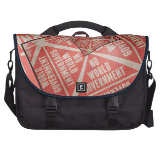 No World Government Commuter Bag
