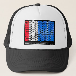 No World Government Trucker Hat