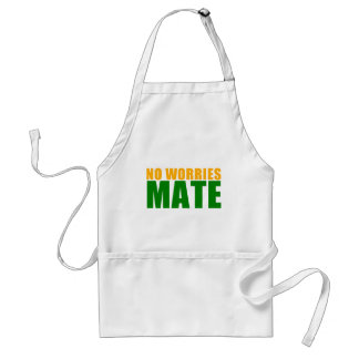 no worries mate adult apron