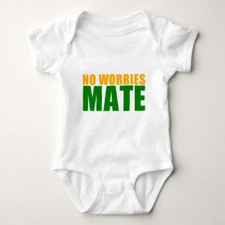 no worries mate baby bodysuit