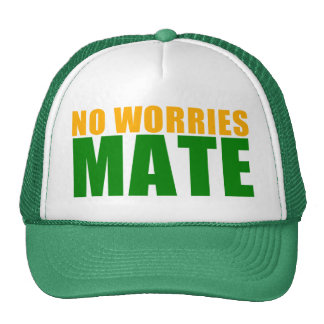 no worries mate hats
