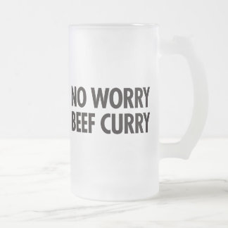 No Worry Beef Curry Coffee Mugs